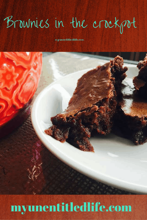 are you looking for a time saver and want chocolate too? Check out my slow cooker brownies.
