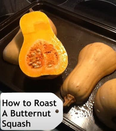 how to roast a butternut squash