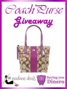 Coach Purse Giveaway 2/10 US