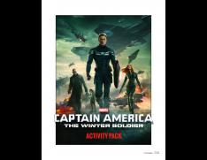 Captain America Winter Soldier Coloring and Activity Sheets for you…or your kids