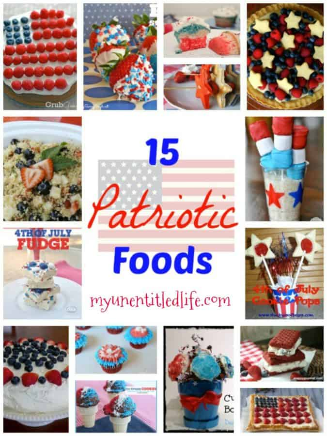 Beautiful 4th of July foods to take to your party
