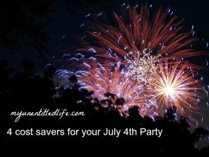 4 cost savers for your July 4th party