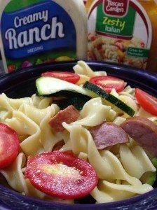 Pasta Salad recipe and Tasty Tuesday Linky