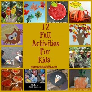 12 Fall craft activities for kids