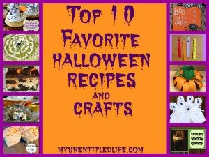 top 10 favorite halloween recipes and crafts