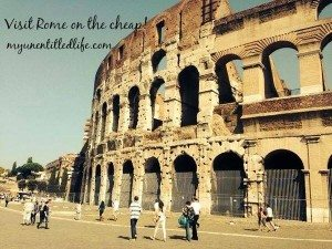 A trip to Rome on the cheap