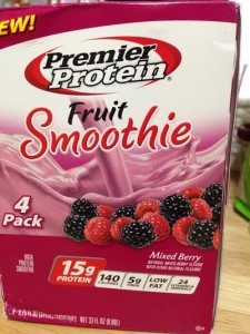premier protein smoothie review