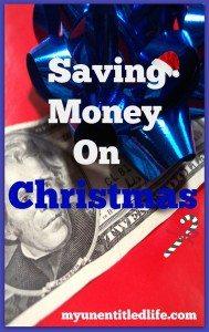 saving money on christmas