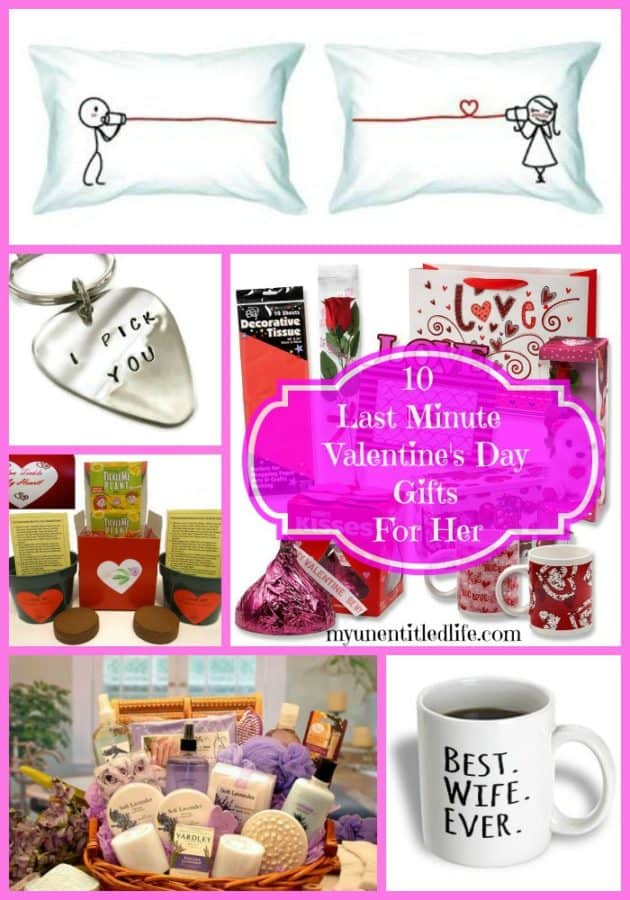 gifts for her for Valentine's Day