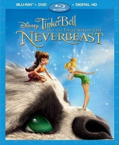 TinkerBell And The Legend Of The NeverBeast Blu-ray + Digital HD Combo Pack Giveaway