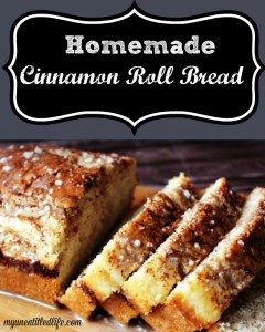 Homemade Cinnamon Roll Bread Recipe