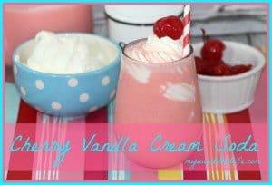 Cherry Vanilla Cream Soda Recipe