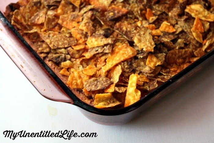 doritos taco bake recipe