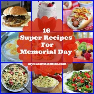 16 Super Recipes For Memorial Day