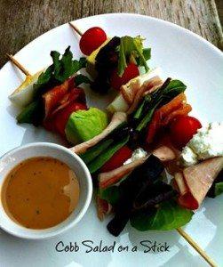 Cobb Salad on a Stick #12days of