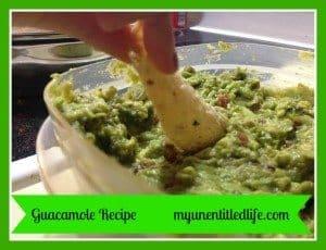 quick and easy guacamole recipe