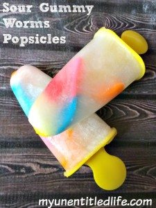 Sour Gummy Worm Popsicle Recipe