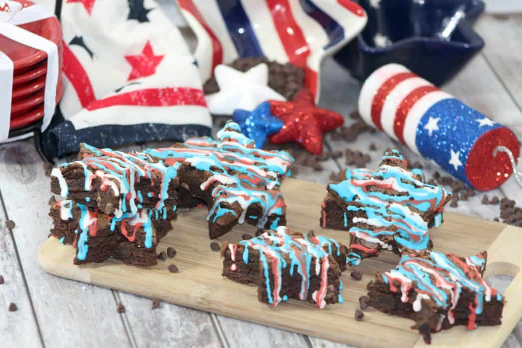 brownies for the fourth of july