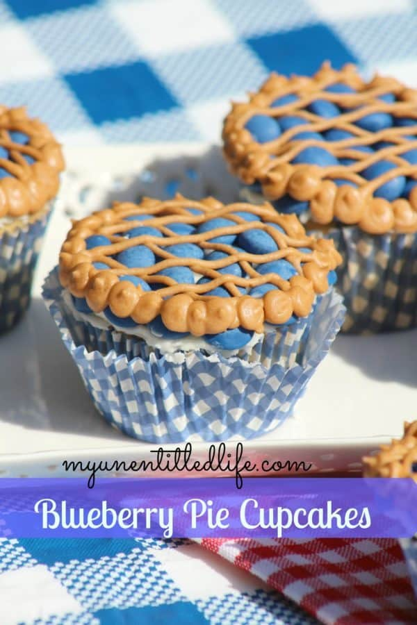 blueberry pie cupcake recipe