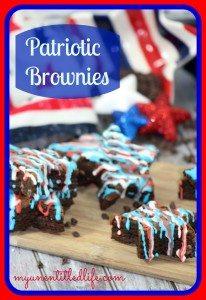 patriotic brownies