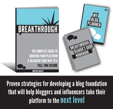 breakthrough taking your blog to a full time income