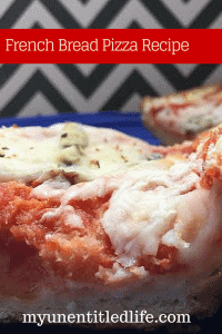 French Bread Pizza Recipe perfect for summer