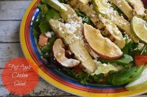 Fuji Apple Chicken Salad #12daysof