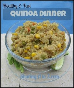 Healthy Quinoa Dinner #12daysof