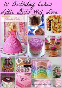 10 cake ideas for girl birthdays