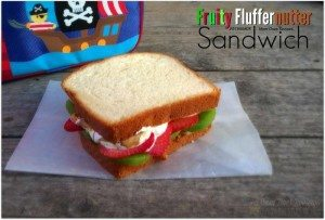 Fruity Fluffernutter Sandwich #12daysof