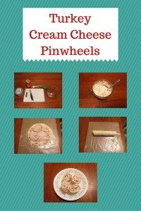 Turkey Cream Cheese Pinwheels #12daysof