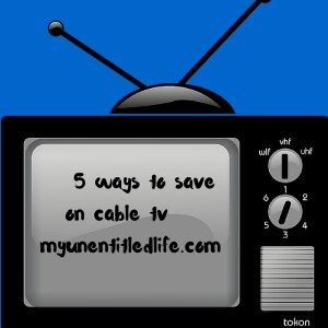 5 ways to save on cable tv