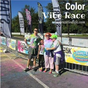 Color Vibe 5k Nashville was a blast! #TumEYummies #ad