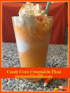 candy corn creamsicle float recipe