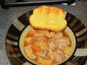 slow cooker pork stew recipe