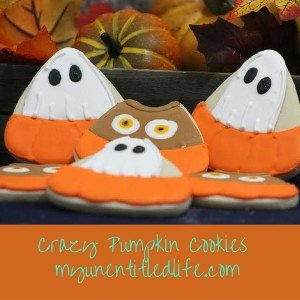 Crazy Pumpkin Cookies recipe too cute for Halloween