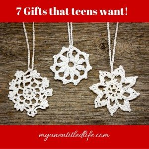 7 Gift ideas that will make any teen's day! #ad