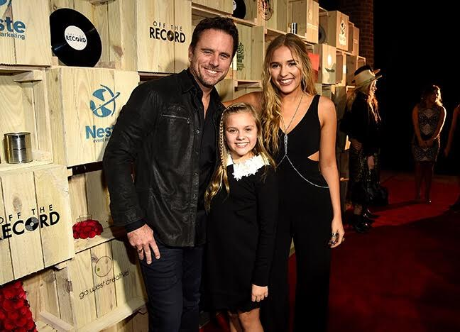 Charles Esten and Stella and Maisy