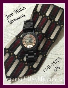 Jord Watch a beautiful way to pull together a great outfit! #jordwatch #giveaway