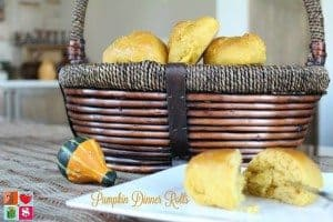 Pumpkin dinner rolls #12daysof