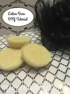 Lotion Bars Tutorial