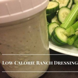 Low Calorie Salad Dressing #12daysof