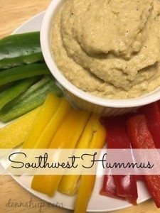 Southwest Hummus Recipe #12daysof