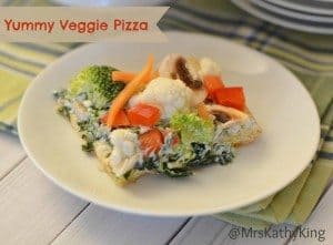 Veggie Pizza recipe #12daysof