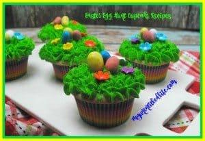 Easter Egg Hunt Cupcakes