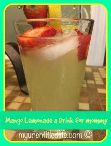 Mango Lemonade #recipe