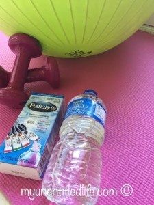 How to Get hydrated after your workout #ad #goodbyeflu #seethelyte @WalMart @Pedialyte