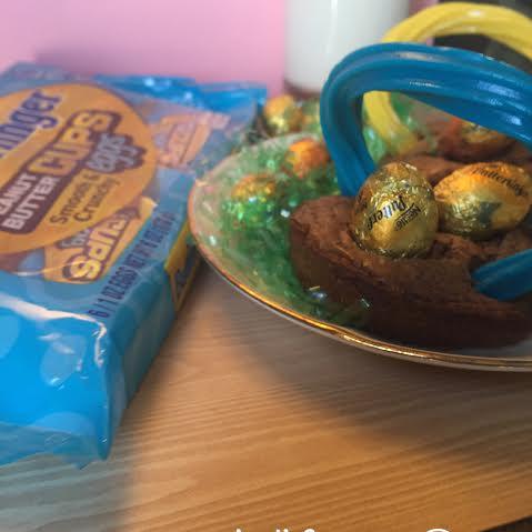 butterfinger brownie basket bite eggs