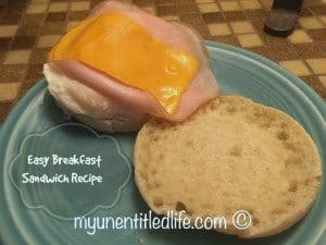 easy egg mcmuffin recipe
