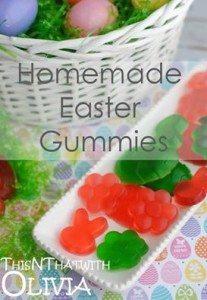 Homemade Easter Gummies #12daysof